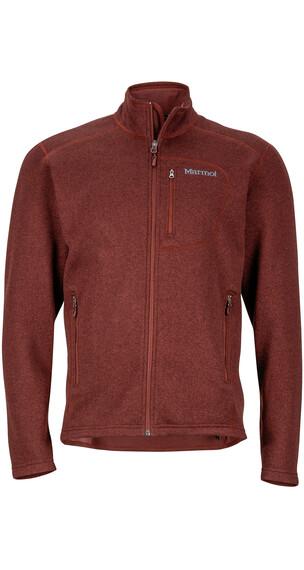 Marmot M's Drop Line Jacket Marsala Brown
